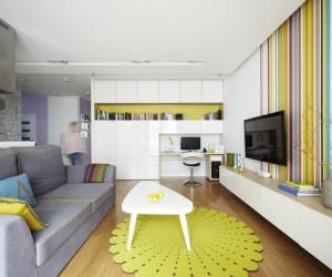 Vibrant Colors by Widawscy Studio Architektury