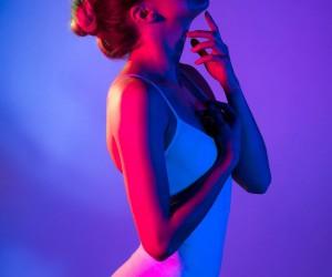 Vibrant Fashion and Beauty Portrait Photography by Nico Pfrenzinger