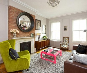 Vibrant New York City Townhouse Cuts Across Styles and Eras
