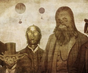 Victorian Star Wars by Terry Fan