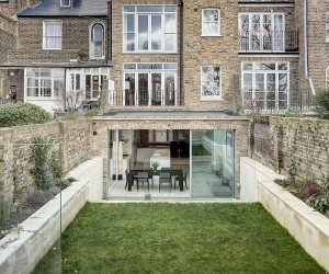 Victorian Townhouse in London Gets a Classy Contemporary Extension