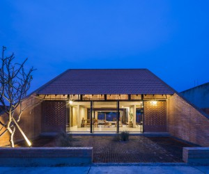 Vietnamese Contemporary House Inspired by Traditional Architecture