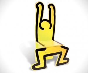 Vilac Designs Keith Haring Chair
