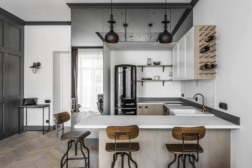 Vilnius Old Town Apartment with a Mix of Modern, Vintage and ...
