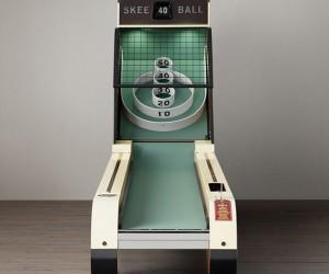 Vintage Art Deco Skeeball