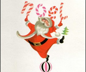 Vintage Christmas Illustrations by Disney Animator Ralph Hulett
