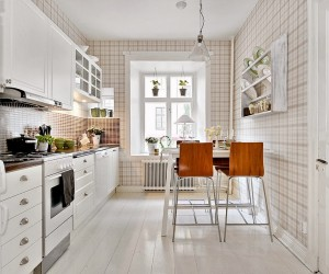 Vintage Details in Gteborg, Sweden Apartment