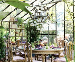 Vintage Sunroom