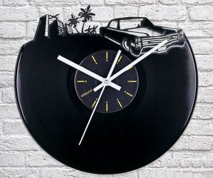 Vinyl Record Clocks: Unique Retro Timepieces