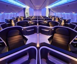 Virgin Australia Boeing 777 new business class