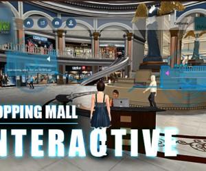 Virtual Interactive shopping Mall Application By Yantram virtual reality studio New York, USA