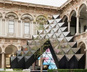 Visionair Installation by Labics at Milan Design Week 2018