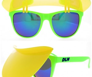 Visor Sunglasses That Are Blacklight UV Reactive ONLY 9.99