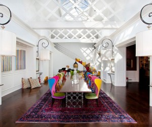 Visual Feast: 25 Eclectic Dining Rooms Drenched in Colorful Brilliance