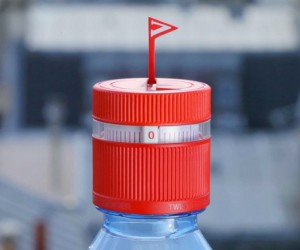 Vittel Refresh Cap | Creatively Reminds You to Drink Water