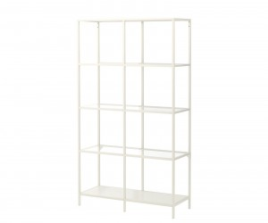 VITTSJ Shelf Unit, 4  2 by Kroonform for IKEA