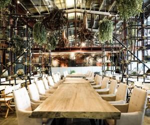 Vivarium Restaurant Bangkok by Hypothesis