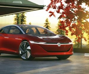 Volkswagen I.D. VIZZION Electric Concept Car