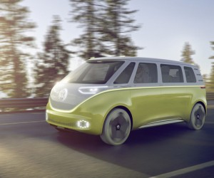 Volkswagen unveils the ID Buzz concept van in Detroit