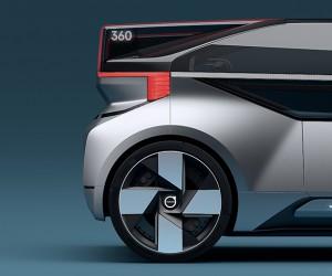 Volvo Unveils New 360c Autonomous Concept