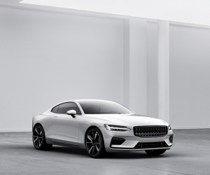 Volvos Polestar 1 Hybrid Sports Coupe