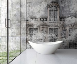 Wall Covering Suitable to Bathrooms