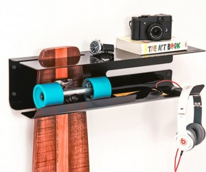 Wall Ride Skateboard Shelf