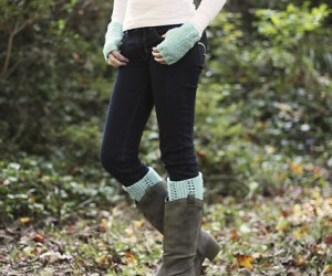 Warm Knitted Boot Cuff Patterns for Fall