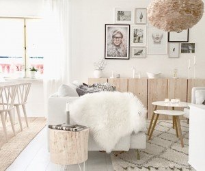 Warm scandinavian home