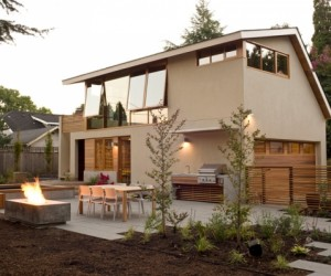 Warm Wood House Interior in Portland