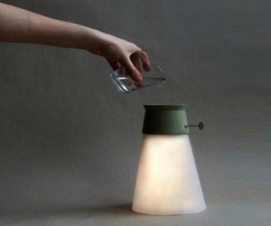 WAT Lamp: Water Powered Lamp