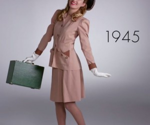 Watch 100 Years of Fashion in Under 2 Minutes