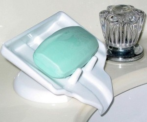 Water Draining Soap Holder