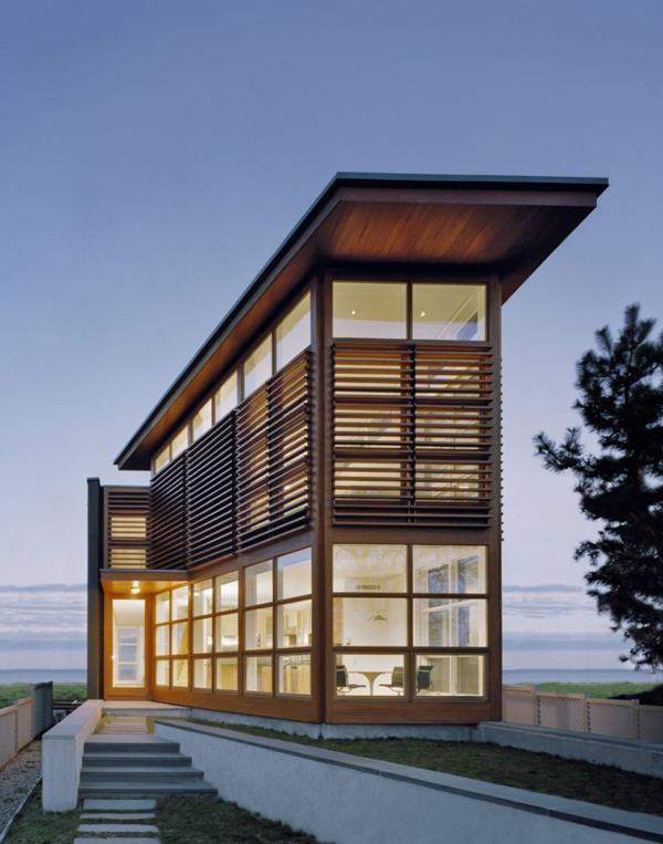 Modern loft house