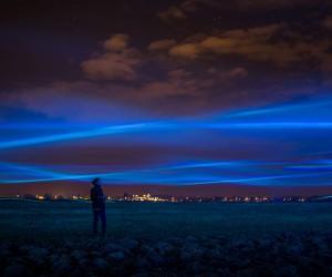 Waterlicht Installation by Daan Roosegaarde