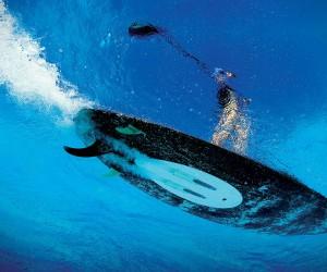 WaveJet Propulsion Surfboard