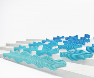 Waves bench design by Tulin  Ayse  Studio-34