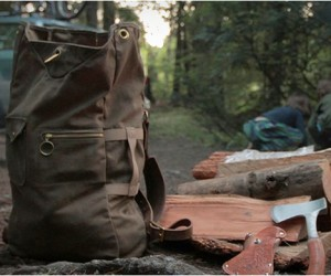 Waxed Canvas Military Duffle Backpack | Collected Works