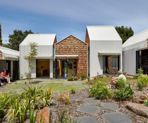 Weatherboard house  creative extension and renovation