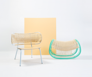 Weaved Seats by Efi Ganor
