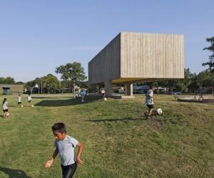 Webb Chapel Park Pavilion by Studio Joseph