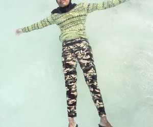Weightless: Portraits of Maldivian Girls in The Warm Ocean by Anastasia Korosteleva