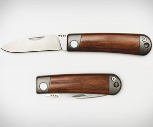 Wesn Henry Titanium Pocket Knife