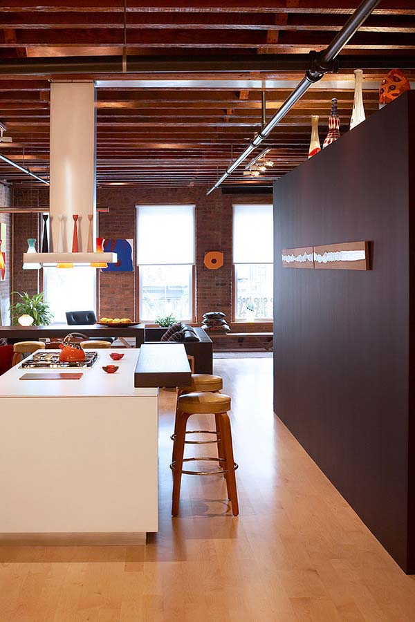 West broadway loft in soho new york by tra studio for Loft soho new york