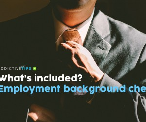 What is included in a Background Check for Employment