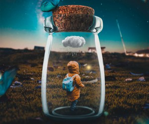 Whimsical and Dreamlike Photo Manipulations by Rizal Avib