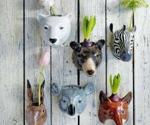Whimsical Planters Inspired by Exotic Wildlife