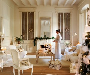 White and precious holiday home