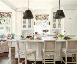 White Kitchen by Suzanne Kasler