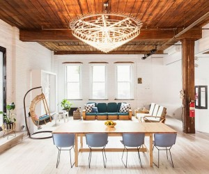 Williamsburg Loft: Industrial NYC Home Designed for a Chef and a Sculptor